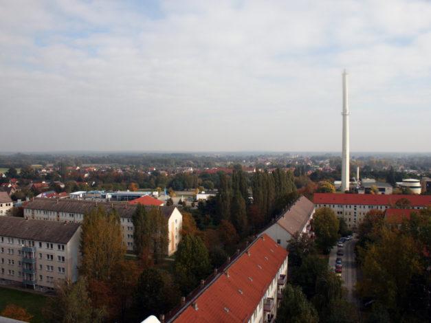 Luftbild Wolfen-Nord von oben